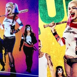 Terlalu Seksi, Seluar Harley Quinn Dipanjangkan Dlm Poster Filem Suicide Squad