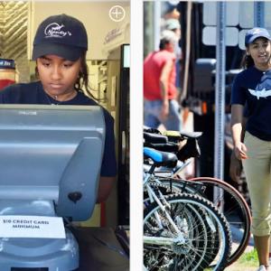 Anak Bongsu Obama Pun Sanggup Bekerja Sambilan Di Restoran, Anak Kita?