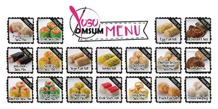 Image result for menu yusu dimsum, Dimsum Kuantan