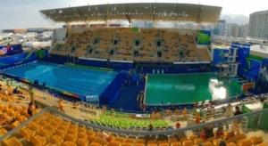 Kenapa Air Kolam Renang Olimpik Rio 2016 Tukar Warna Dari Biru Jadi Hijau?