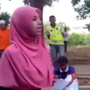 """Gadis Melayu Gesa Rakyat Malaysia, """"Jangan Membisu Lagi"""" Dalam Isu Malaysian Official 1"""
