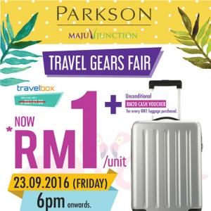 Jualan Bagasi Termurah Di Parkson, Serendah RM1! 5 Sebab Anda Tidak Harus Ketinggalan!
