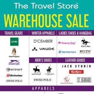 Aktiviti Hujung Minggu: Jom Serbu Jualan Gudang The Travel Store