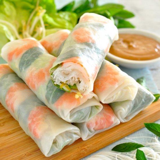 Gulung Gulung Pasti Jadi Resipi Vietnamese Spring Roll Homemade