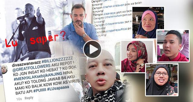 Artis Meroyan, Berperang Sesama Sendiri Di Laman Sosial - Apa Kata anda?
