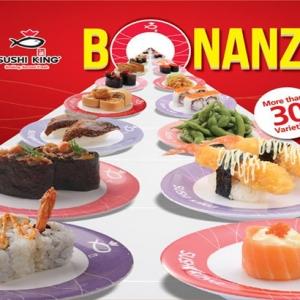 Sushi King Bonanza Kembali Lagi!