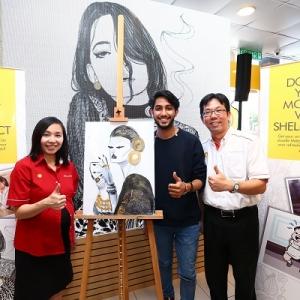 Kongsi Momen Di Shell Select Dan Gambar Anda Akan Dijadikan Doodle!