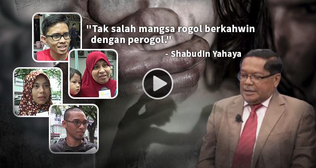 Perogol Boleh Kahwini Mangsa Rogol, Apa Nak Jadi Dengan Malaysia?