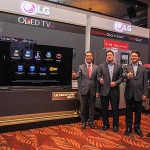 LG Electronics Perkenal Perkakasan Elektrik Dengan Teknologi Terbaik Dunia