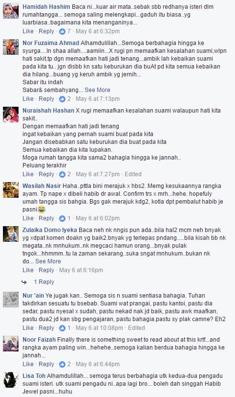 Lucu! Suami Kantoi Luah Perasaan Di Facebook, Ketahuan