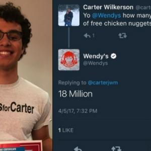 Main-Main Minta Nugget Ayam Di Wendy's , Tak Sangka Tweet Lelaki Ini Pecah Rekod