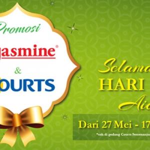 Jasmine & Courts Malaysia Melancarkan Promosi Raya Hebat!