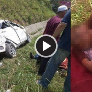 Bayi Tiga Bulan Maut Tercampak Dari Kereta Di Lebuhraya PLUS