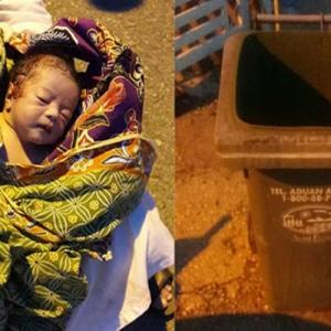 Bayi Ditemui Dibuang Dalam Tong Sampah, Diberi Nama Mohd Ramadan