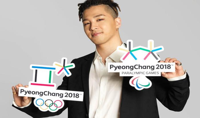 Taeyang Dilantik Jadi Duta Olimpik 2018
