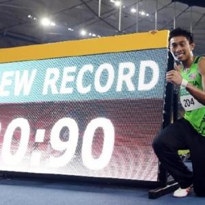 Dengan Catatan 20.90 Saat, Khairul Hafiz Berjaya Pecahkan Rekod Kebangsaan