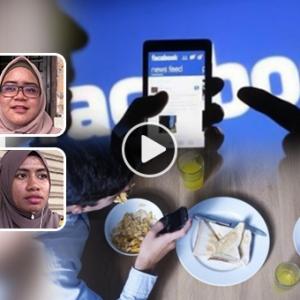 Aduhai, Bila Parent Nak Follow FB, IG Anak...