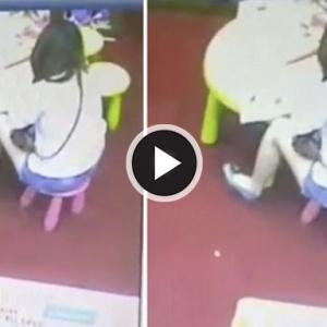"""Rakaman CCTV Lelaki Onani Dalam Kedai Buku, """"Pancut"""" Atas Belakang Wanita"""
