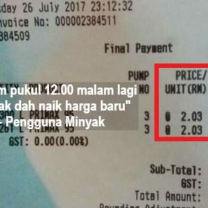 """""""Nak Kaya Cepat Pun Sabaq Sat Boleh?"""" - Pengguna Minyak"""