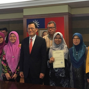 Lanjutkan Pelajaran Di Taiwan, Tiga Pelajar Melayu Terpilih Terima Biasiswa