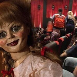 Wanita Meracau Dalam Panggung Wayang Semasa Tonton Filem Annabelle?