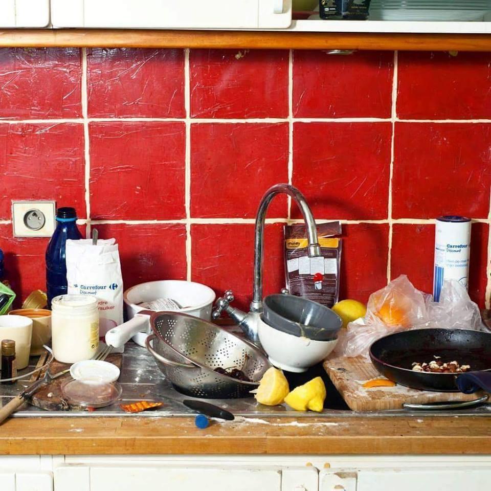 Image result for pinggan mangkuk bersepah