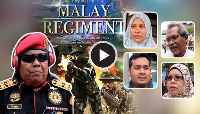 """Kenapa Zaid Hina Dan Cakap Filem Malay Regiment """"Bodoh""""? - Rani Kulup"""