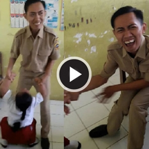 Gelagat Pelajar Menjerit Ketakutan Gara-Gara Takut Kena Suntik Cuit Hati Netizen