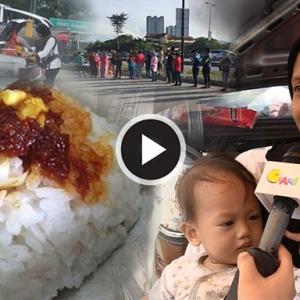 Nasi Lemak Akak Dukung Anak: Biar Perit Berpanas, Jangan Pernah Mengemis