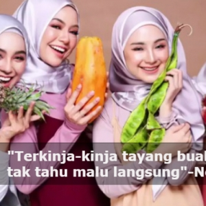 """Nak Tayang Buah Ke Tudung Dik?""-Iklan Dikecam Tonjol Unsur Seksual"