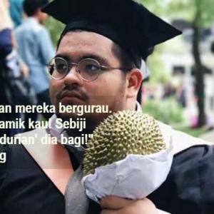 Tak Mainlah Bagi Bunga Masa Konvo, Bagi Durian Baru 'Rare'!
