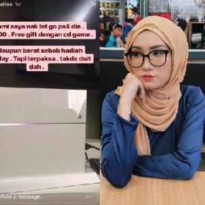 """Syasya Solero Up Status Gurauan Kononnya Tengah """"Pokai"""", Sekali Kena Maki"""