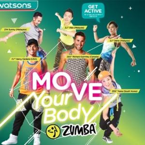 [Pengumuman] Pemenang Tiket Percuma Watsons Move Your Body Zumba