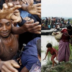 Tindakan Myanmar Dikecam, Pasang Periuk Api Halang Rohingya Pulang