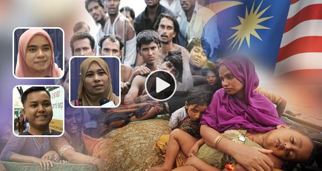 Ditelan Mati Emak, Diluah Mati Bapa, Rohingya Perlu Dibantu Atau Pun Tidak?