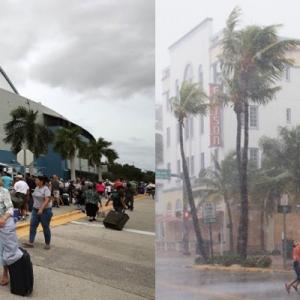 Taufan Irma Landa Florida, Enam Juta Penduduk Diarah Berpindah