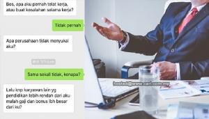 """Taraf Pendidikan Bukan Penentu Utama Gaji - Respon Seorang Bos Bila Dipersoal """"Pekerja Bijak"""""""