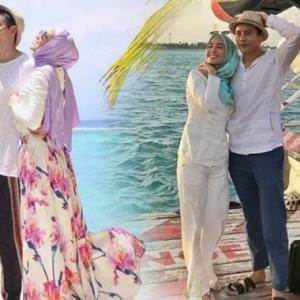 Nazim Othman Dan Isteri Ke Maldives, Harga Villa Satu Malam RM10 Ribu?