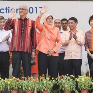 Halimah Yacob Kini Presiden Singapura, Menang Tanpa Bertanding