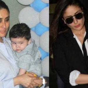Kareena Kapoor Geli Bersihkan Tahi Anak Sendiri?