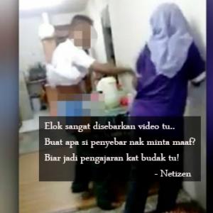 Elok Diviralkan, Biar Jadi Pengajaran! - Netizen Setuju Tindakan Penyebar Video Anak Pukul Mak