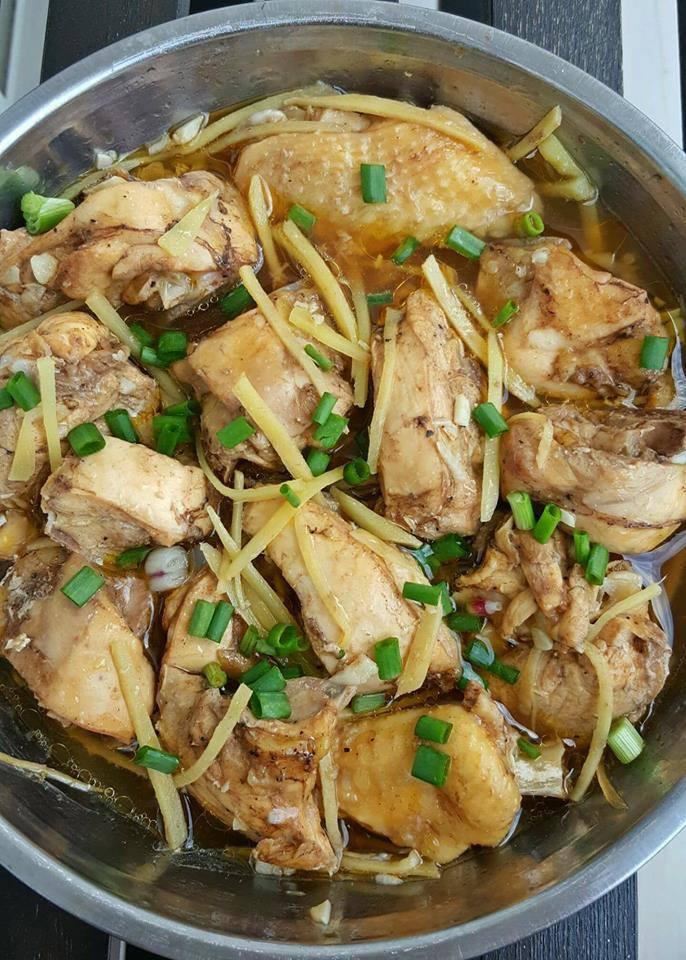 ayam kukus halia menu  minyak  tetap sedap menjilat jari resipi makanan explo Resepi Tulang Ayam Masak Kicap Enak dan Mudah