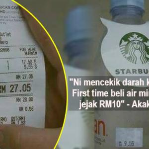 Akak Jakun Kena Kecam Berjemaah Sebab Meroyan Air Mineral RM10