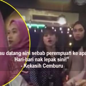 Macam Drama Slot Akasia Pula Ada Adegan Wanita Maki 'BF' Di Kedai Makan