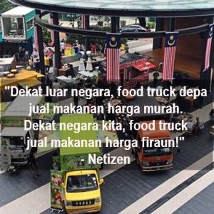 'Food Truck' Malaysia Jual Makanan Harga Firaun! Eh, Yeke?
