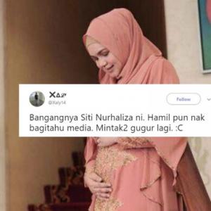 """Harap-Harap Kau Gugur Lagi,""- Lelaki Hina Siti Nurhaliza Dikecam"