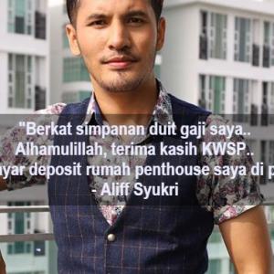 Aliff Syukri Kerek Lagi, Netizen Nak Sekolahkan Dia