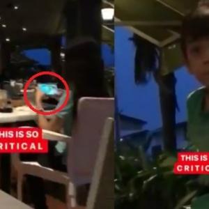 Anak Hilang Tahu Pula Meraung-Leka Main Game Handphone, Suami Isteri Ini Dikecam