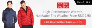 Uniqlo Tawarkan 6% Pemulangan Wang Bermula 25 Sehingga 31 Oktober Ini