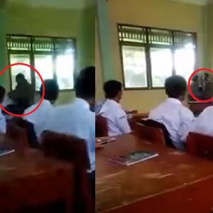 Hilang Akal, Guru Ini Belasah Murid Macam Nak Membunuh